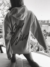 White Stay Wild Hoodie - Atticus Poetry - Poems