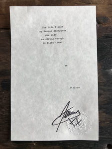 Signed Poem Atticus Poetry (Atticus -Love Her Wild Signed Copy - Atticus Poetry - Books - Love Poems signed NYT bestseller best gift poems atticus poetry @atticuspoetry instapoetry instagram)