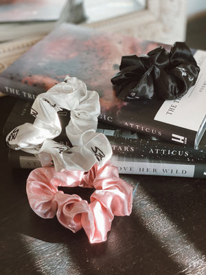 Satin Scrunchie Set (Pack of 3)