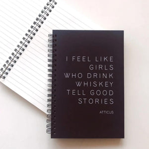 Atticus Journal - Black journal - love journal