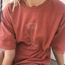 Wild Rose Red Atticus Tee - Atticus Poetry Merch - Love Poems