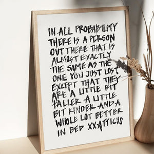 In All Probability - Print