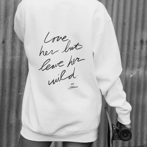 Stay Wild Hoodie - White