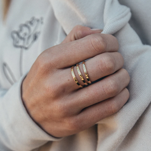 Love Her Wild - Gold Rings (3)