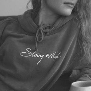 Stay Wild Black Hoodie - Atticus Poetry - Poems