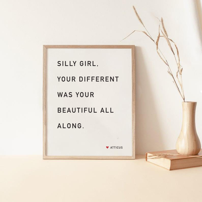 Silly Girl - Print
