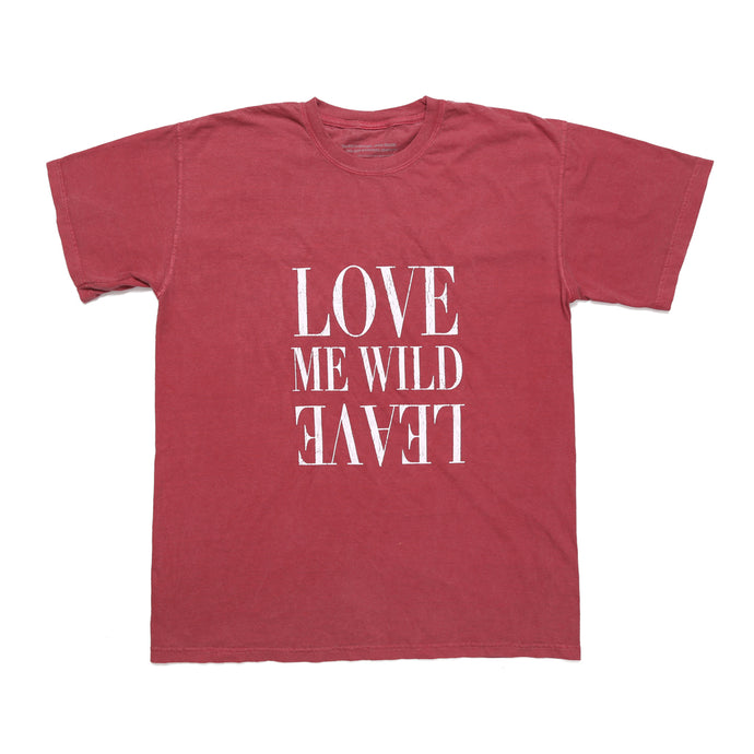 Love Me Wild - Vintage Red Tee - Atticus Poetry Merch - Poems