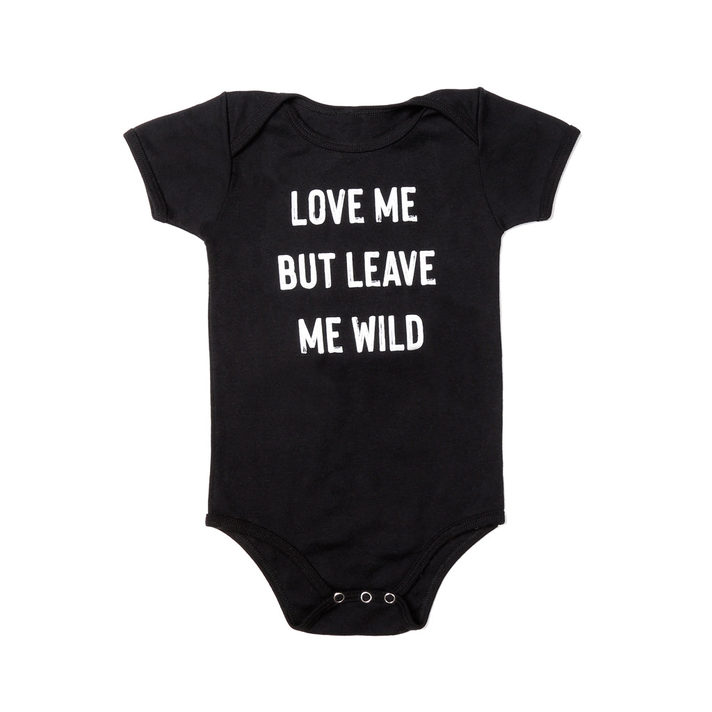 Leave Me Wild - Baby Onesie - Atticus Poetry - Atticus Merch