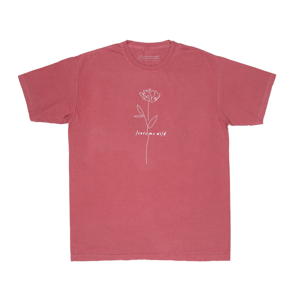 Wild Rose Red Vintage Tee - Atticus Poetry Merch - Love Poems