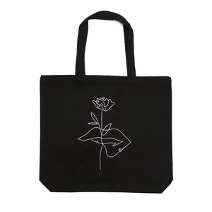 Blac bag - atticus tote - poetry store