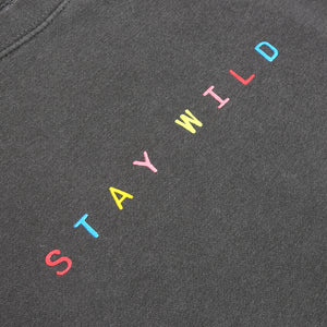 Multicolor Stay Wild Crewneck - Atticus Poetry Merch - Poems