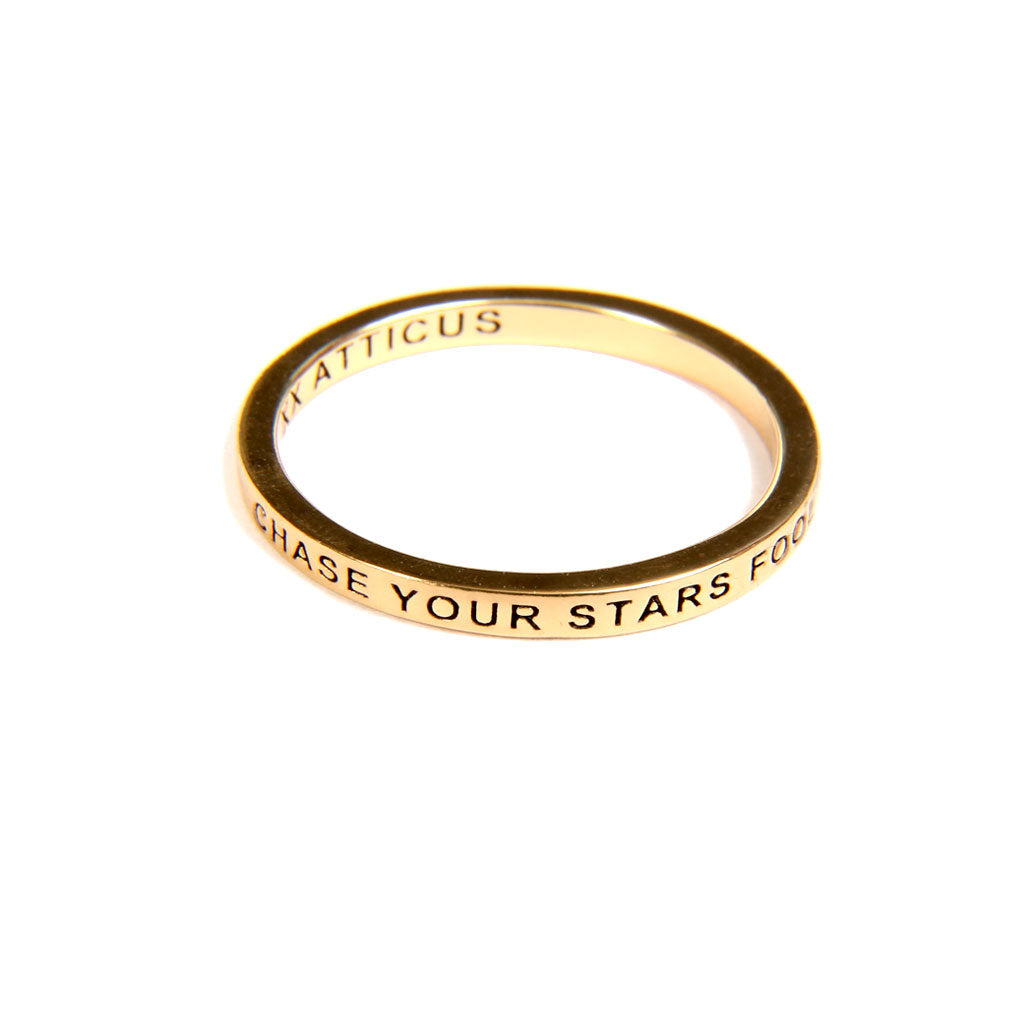 Chase Your Stars Ring - Gold