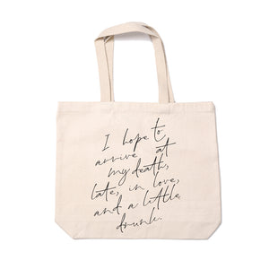 Late In Love - Tote