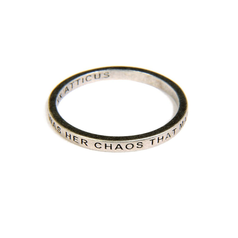 Beautiful Chaos Ring - Silver