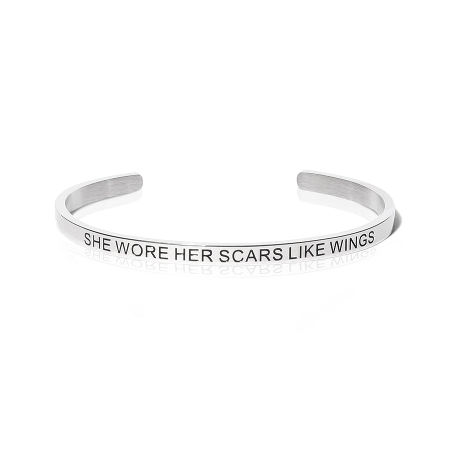 Poetry Bracelet - Atticus - Wings Jewelry