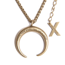 Atticus Poetry - Jewelry - Necklace - Horseshoe Pendant