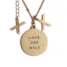Atticus Poetry - Jewelry - Necklace - Love Her Wild Pendant
