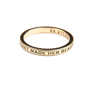 Atticus Poetry -Jewelry - Beautiful Chaos - Ring