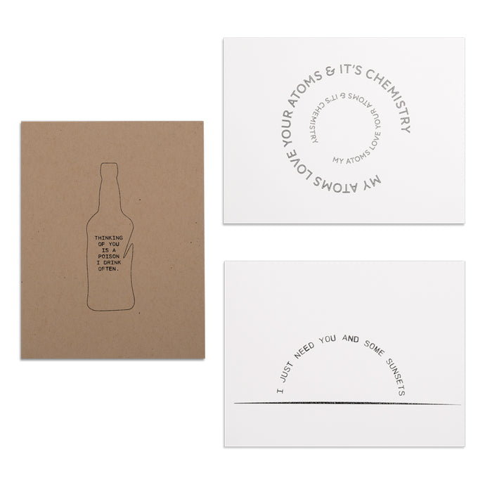 Atticus Card - Greeting card - poem stationary