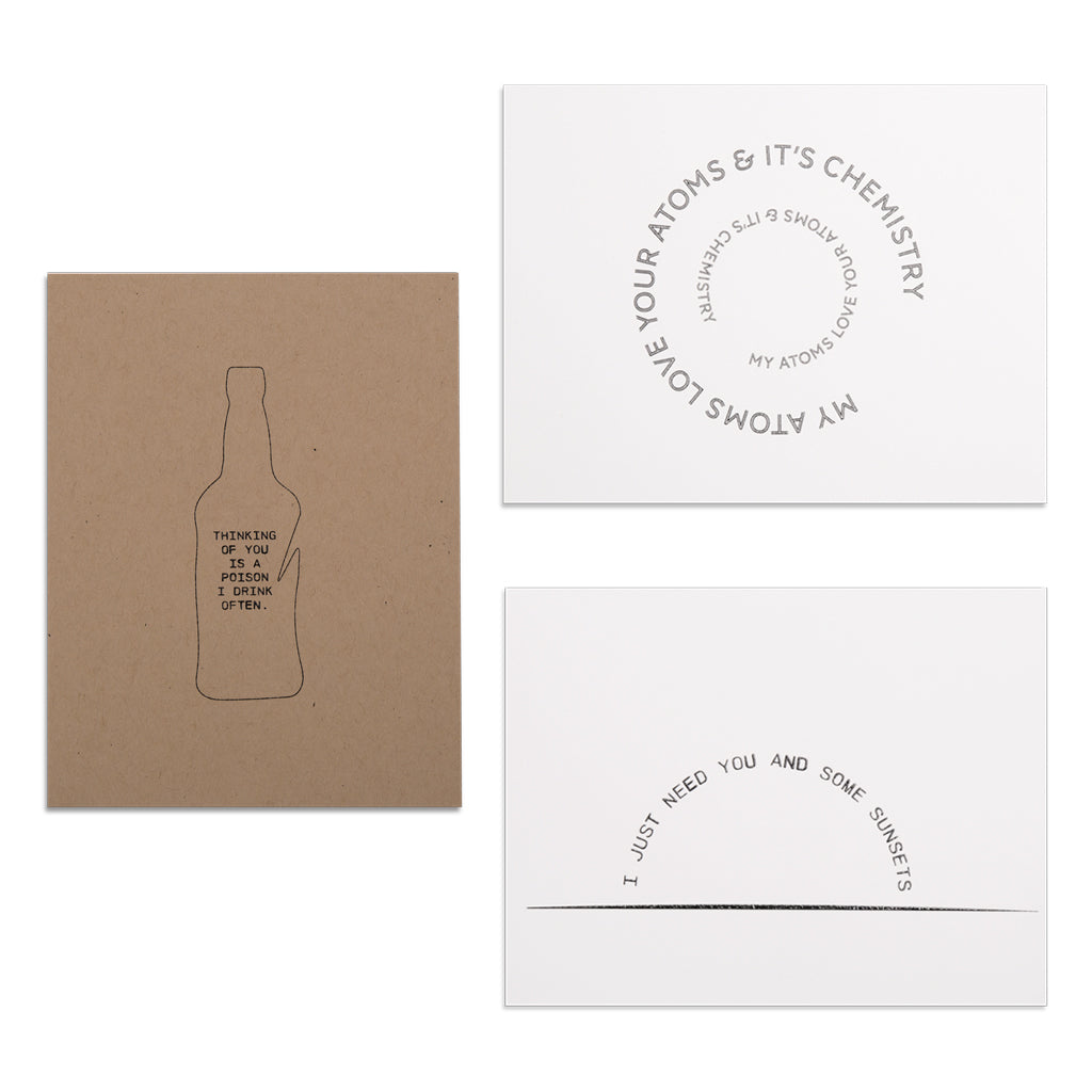 Atticus Poems - Stationary Card Set