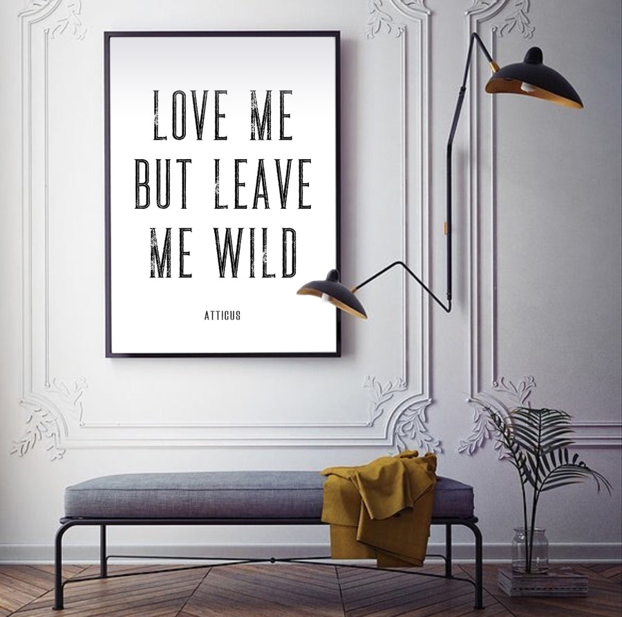 Atticus Poetry - love - Print