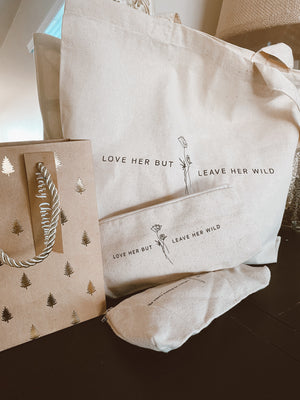 Leave Her Wild - Canvas Tote