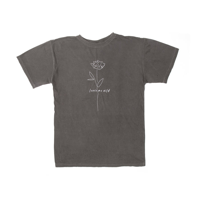 Wild Rose - Vintage Black Tee - Atticus Poetry Merch - Poems