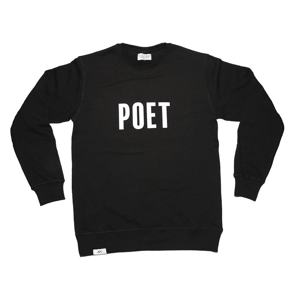 POET Crew Neck - Black