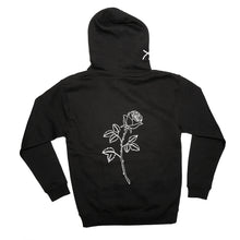 Black Rose Hoodie - Atticus Store - Rose Merch