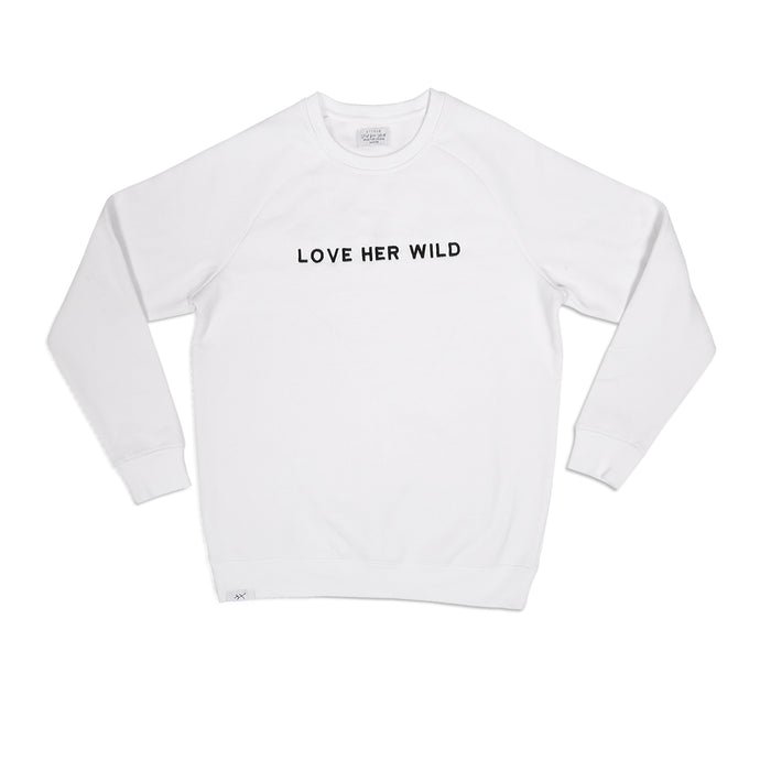 Love Her Wild - Embroidered Crew