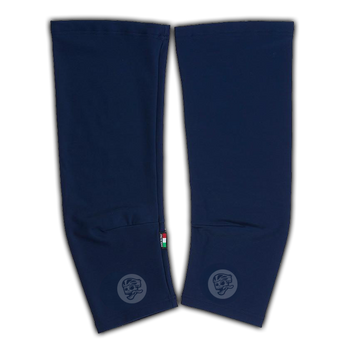 Attaquer Knee Warmers Navy/Reflective