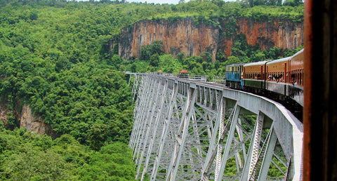 Hsipaw Gokteik Viaduct Tour