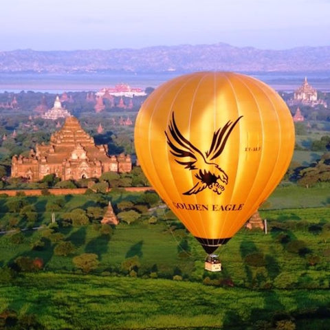 Golden Eagle Ballooning Bagan - Alamanda Travels, Myanmar