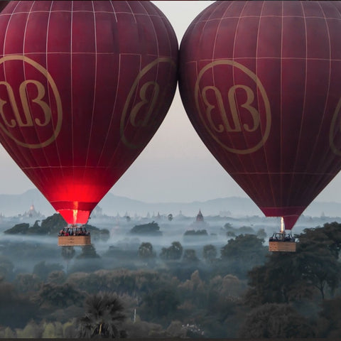 Balloons over Bagan - Alamanda Travels, Myanmar