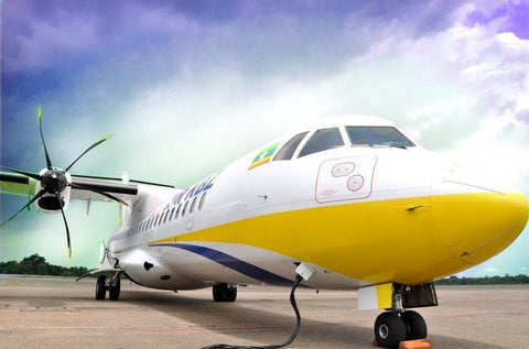 #ALM_1035 - Air ticket - Alamanda Travels, Myanmar