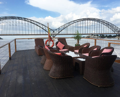 Day Cruise with Lunch on the Irrawaddy - Alamanda Travels, Myanmar