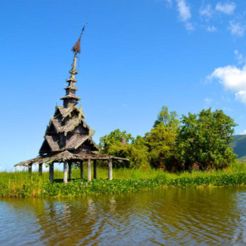 Full Day - Samkar Lake Boat Tour with Lunch - Alamanda Travels, Myanmar