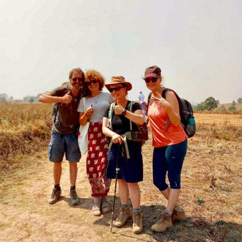 Day Return Trekking in Inn Dein, Inle Lake - Alamanda Travels, Myanmar