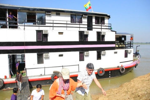Irrawaddy River Cruise [Bagan- Mandalay V.v] 1Night/2 Days - Alamanda Travels, Myanmar