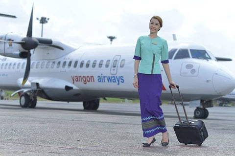 #ALM_1050 - FLIGHT TICKETS - Alamanda Travels, Myanmar