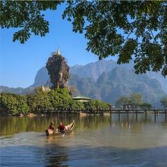 Selected Hotels in Hpa-An, Kayin State - Alamanda Travels, Myanmar