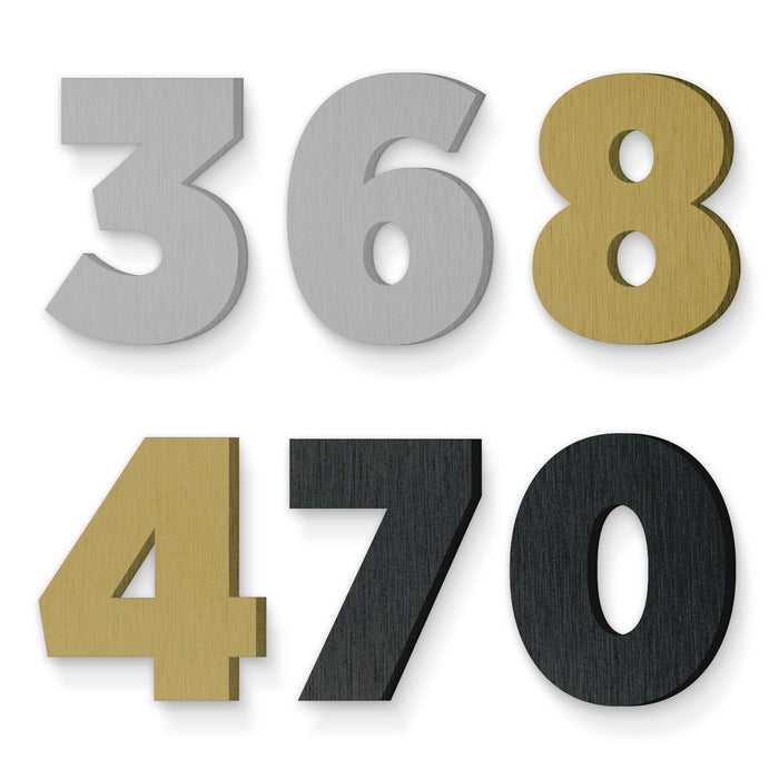 Custom house number font gotham narrow ultra