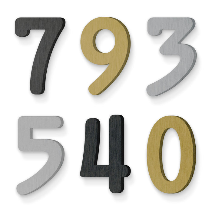 Custom house number font numbers premium