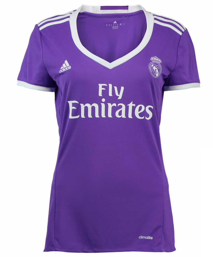 low priced e4e47 2a8b4 Real Madrid Women Away Kit 16/17