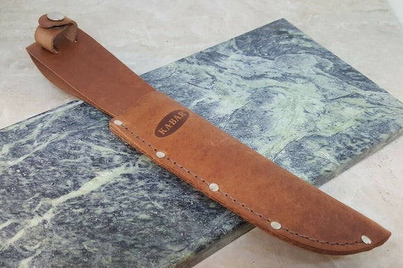 Ka-Bar 1235 Leather Fixed Blade Knife Belt Sheath for up to 6 1/4