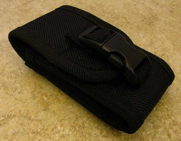 Black Nylon Carry-All Knife Pouch for Horizontal or Vertical Carry 4