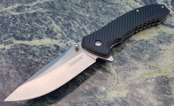 Kershaw Wired Speed Safe Assisted Opening Linerlock Pocket Folding Blade knife