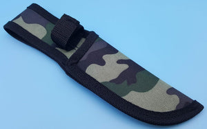 Nylon Fixed Blade Knife Belt Sheath Pouch