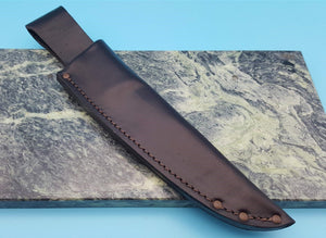 Bradford Knives Leather Fixed Blade Knife Belt Sheath Pouch FS