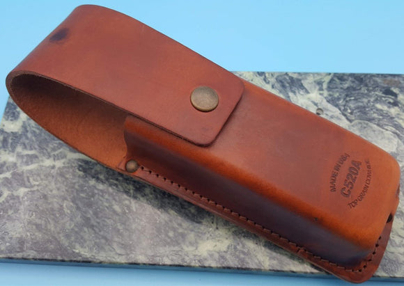 Fluke C520A Leather Electrical Tester Holster Case Belt Sheath Pouch New FS